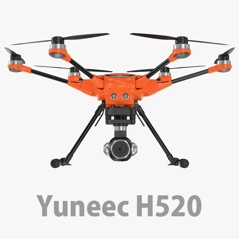 3D model h h520 yuneec