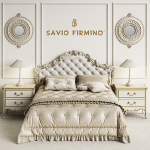 3D savio firmino 1696 bedroom