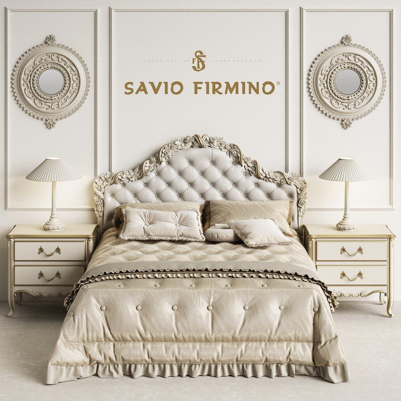 3D savio firmino 1696 bedroom