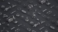 junk yard kit 3D model