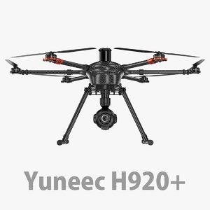 3D h 920 yuneec model