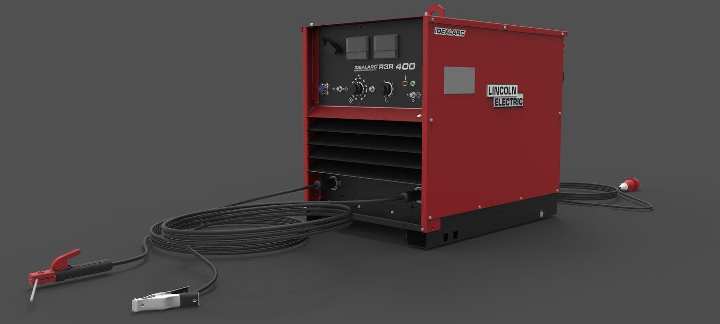 3D equipment weld