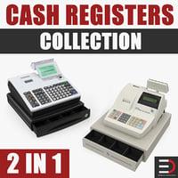 3D cash registers