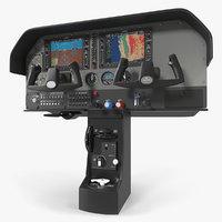 Light Airplane Control Panel