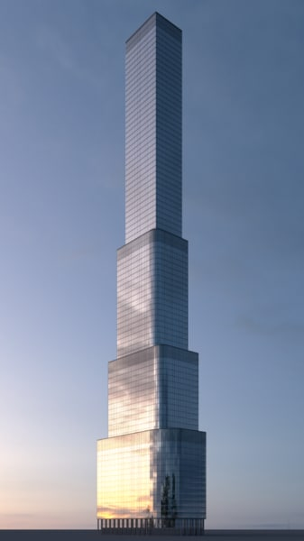 3D skyscraper skyscaper model