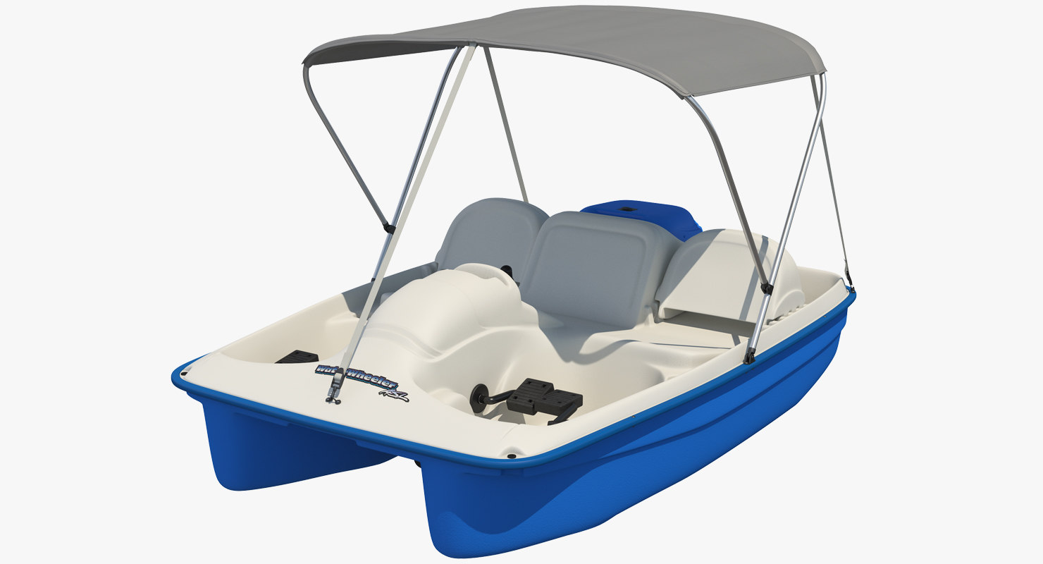 pedal boat canopy 3D & Pedal boat canopy 3D - TurboSquid 1245209