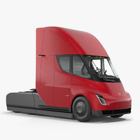 tesla semi truck simple model