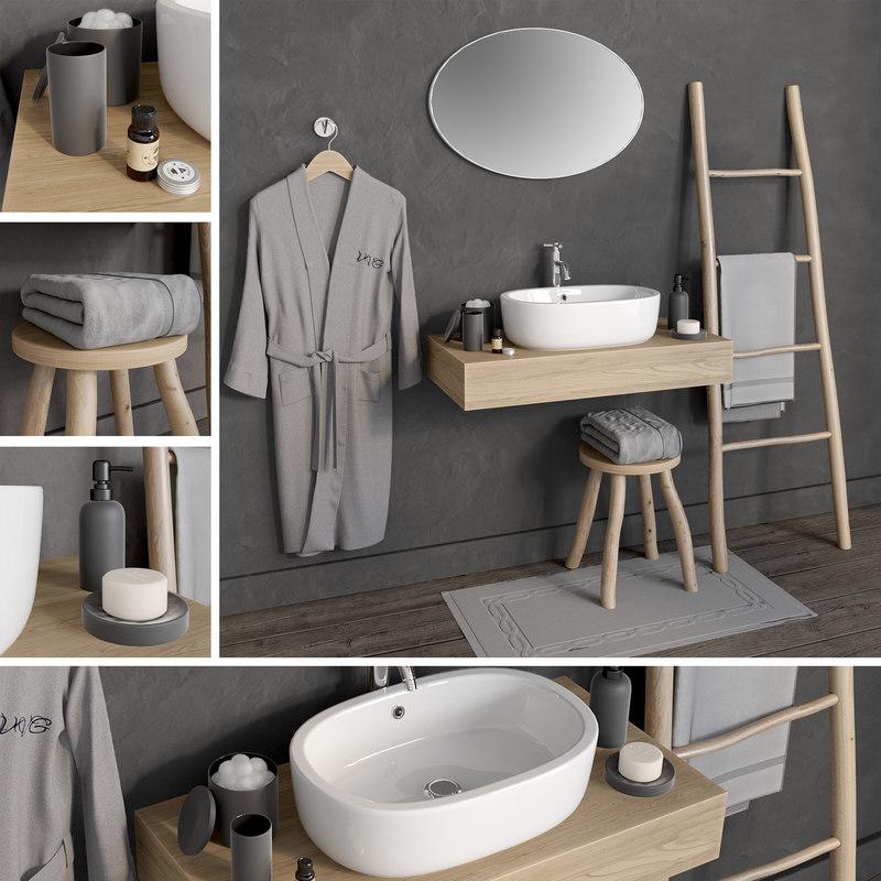 bathroom 6 3D model