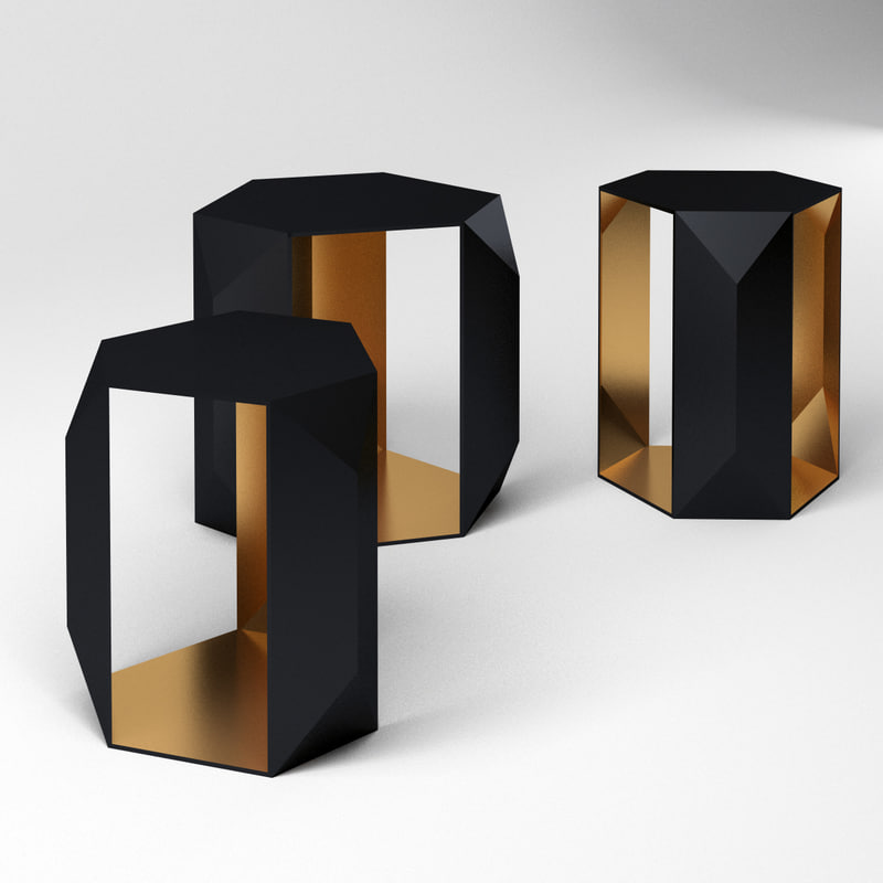 3D set geometric tables