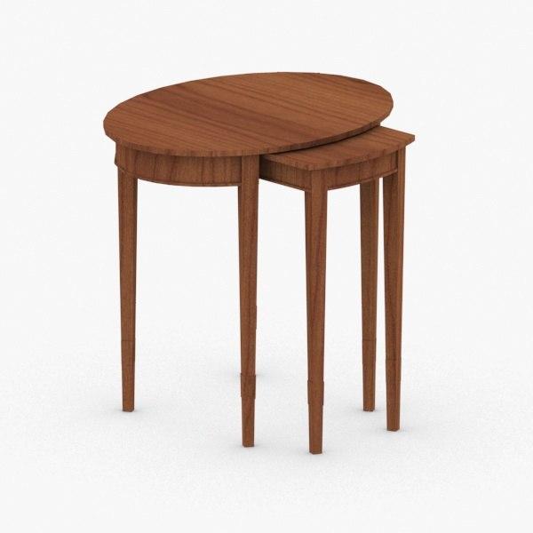 interior - table model