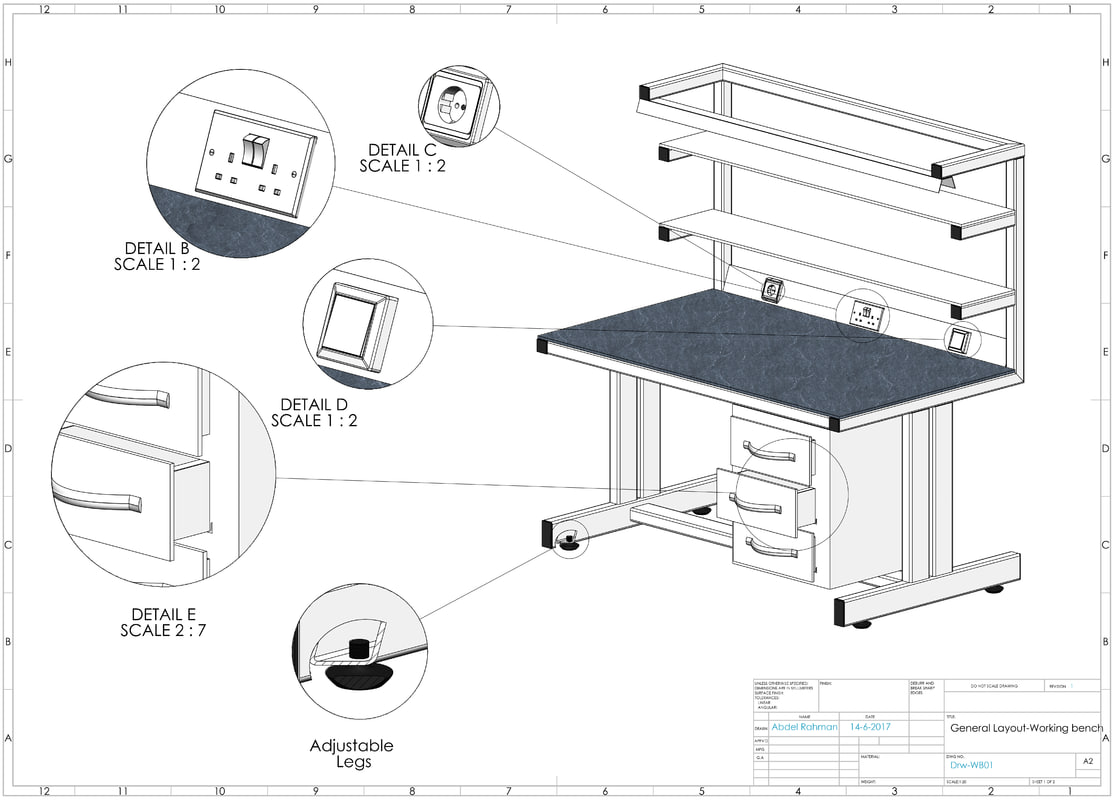 3D p2- workingbench model