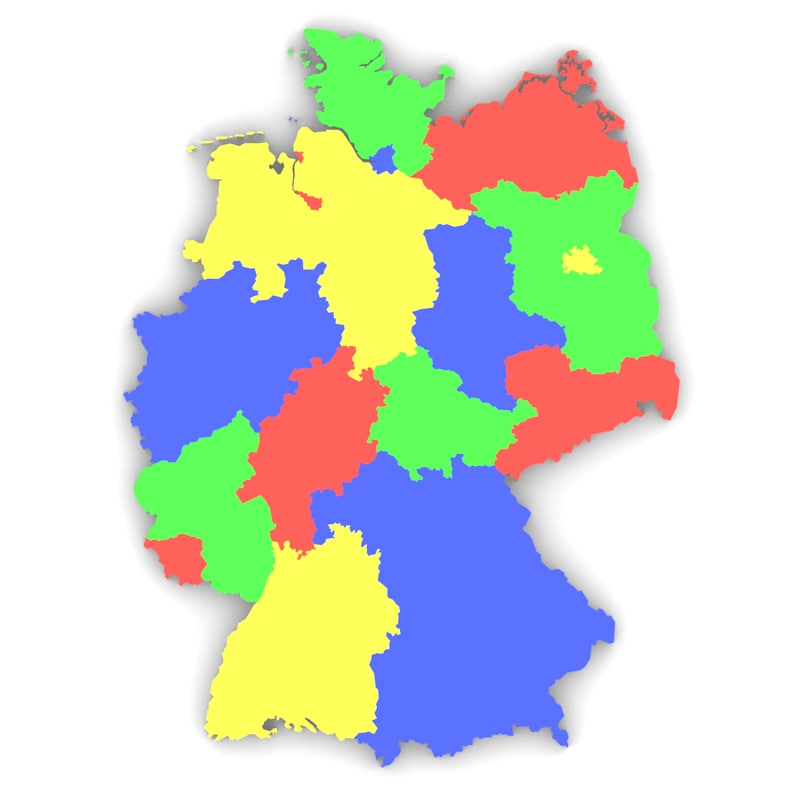 3D model germany state