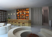 bar tavern taproom 3D model