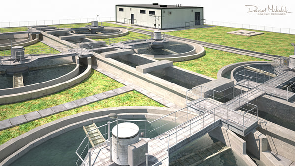 water treatment 3D