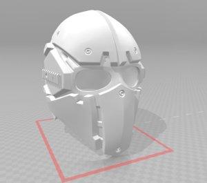 3D airsoft tactical helmet