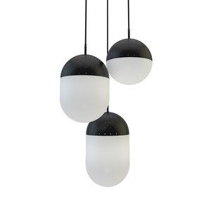 3D pendant light woud model