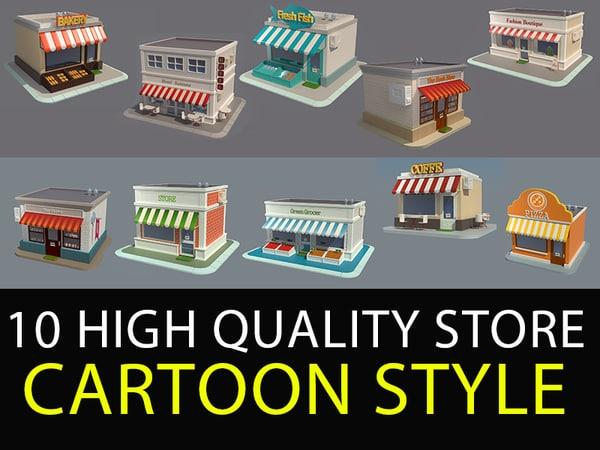 shop v5 3D model