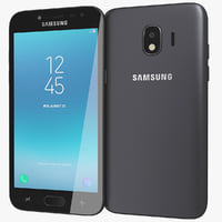 realistic samsung galaxy j2 3D model