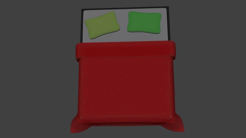 3D bed blender