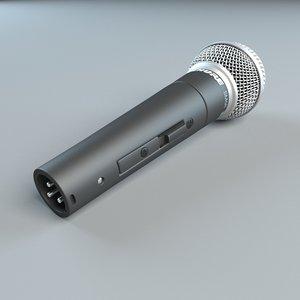 microphone shure 3D
