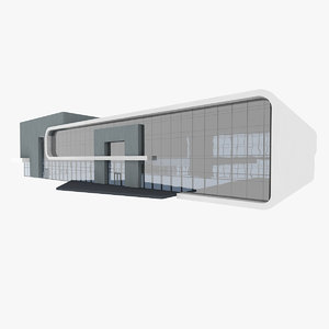 3D model sport health care building