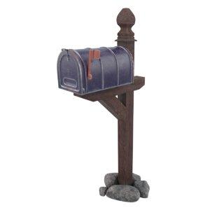 3D mailbox box