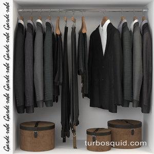 closet wardrobe 3D
