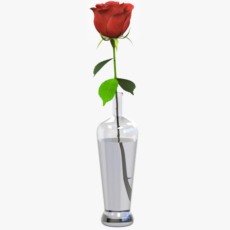 rose details 3D model
