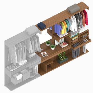 3D bosco wardrobe 2 model