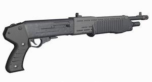 3D franchi shotgun gun model