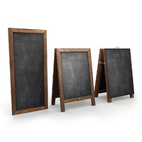 3D menu boards