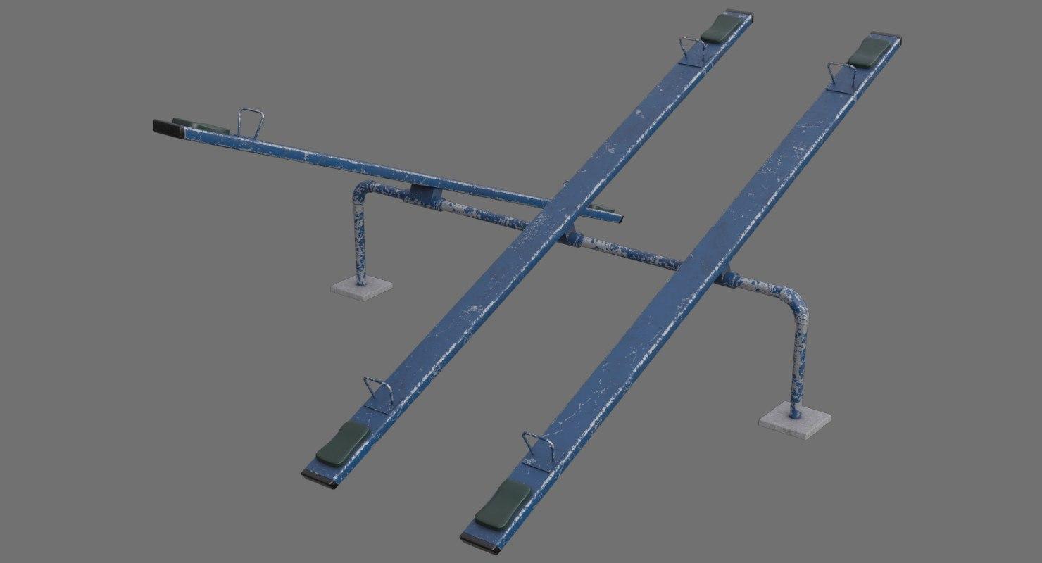 3D seesaw 1b model