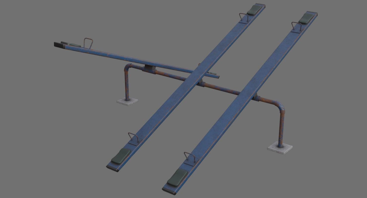 3D seesaw 1c model