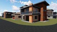 bedroom house 3D model