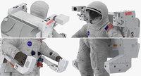 3D spacesuit a7l manned maneuvering
