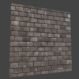 brickwork brick 3D model
