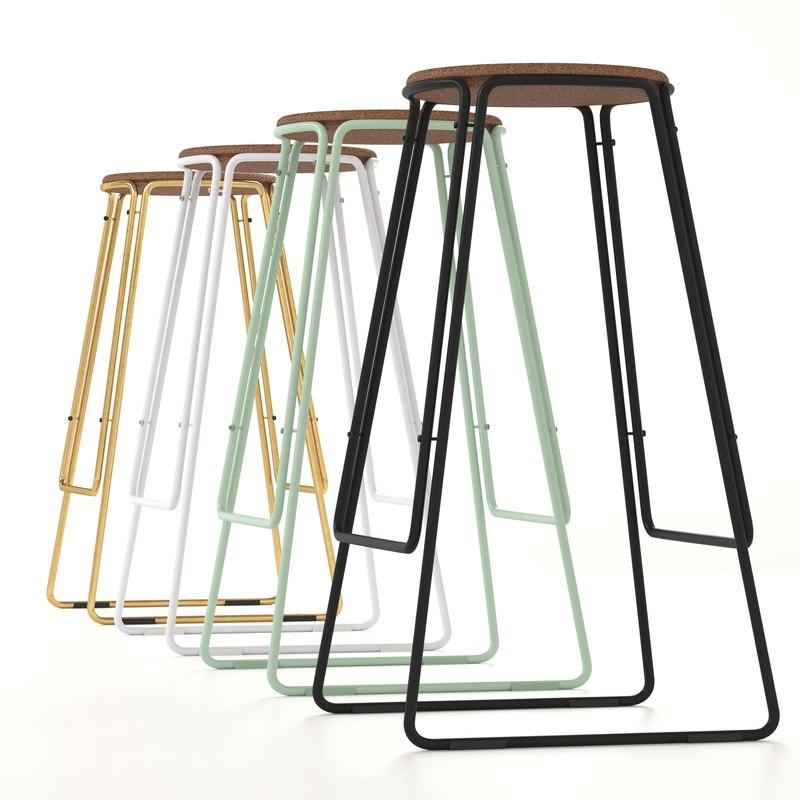 smed stool great dane 3D