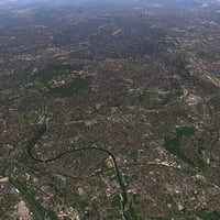 3D paris maps model