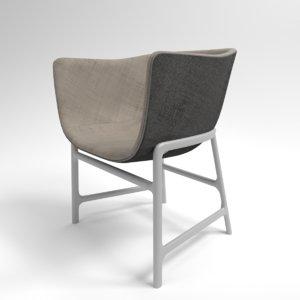interior fritz hansen minuscule 3D model
