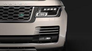 range rover autobiography hybrid 3D