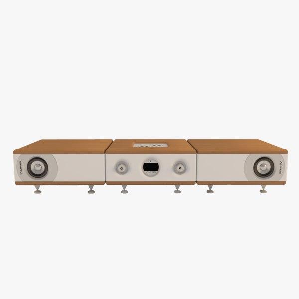 3D d-125 amplifier ddh-1