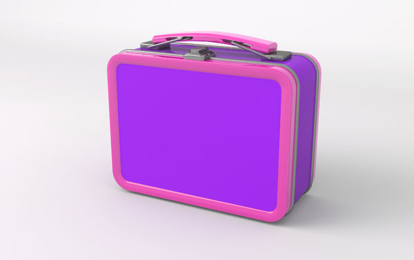 3D lunch box