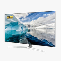 samsung mu8009 tv 3D model