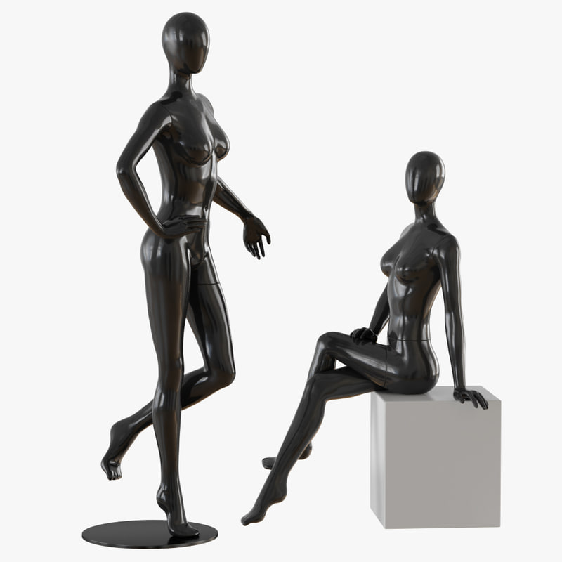 3D mannequin abstract