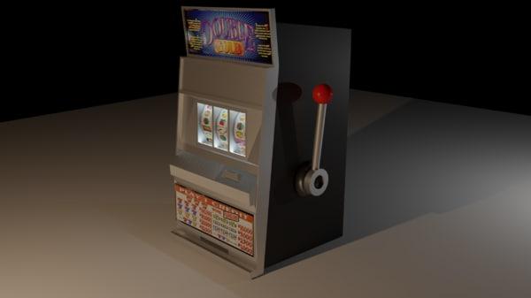 toy slot machine 3D model