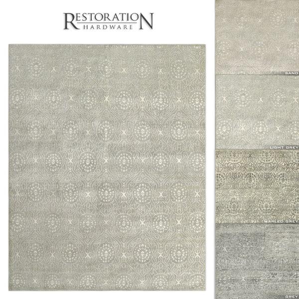 3D restoration rugs ankara model
