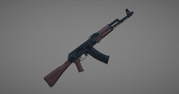 3D ak-74 bolt