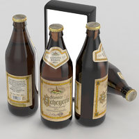 beer bottle 3D model