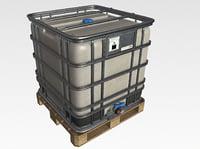 bulk container 3D