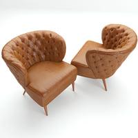 fado armchair 3D model